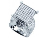 Ladies Diamond Fashion Ring 10K White Gold 2.97 cts. GD-71819