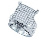 Ladies Diamond Fashion Ring 10K White Gold 2.13 cts. GD-71826