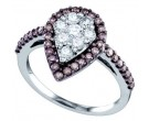 Ladies Diamond Fashion Ring 10K White Gold 0.99 cts. GD-71948