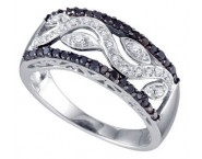 Ladies Diamond Fashion Band 10K White Gold 0.42 cts. GD-72298