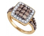 Ladies Diamond Fashion Ring 10K Rose Gold 1.62 cts. GD-72615