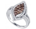 Ladies Diamond Fashion Ring 10K White Gold 1.58 cts. GD-73588