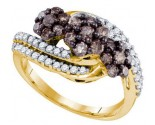 Ladies Diamond Fashion Band 10K Yellow Gold 0.75 cts. GD-72954