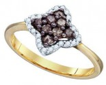 Ladies Diamond Fashion Ring 10K Yellow Gold 0.34 cts. GD-74874