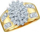 Ladies Diamond Fashion Ring 10K Gold 0.50 cts. GD-7647