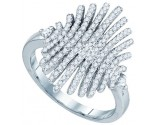 Ladies Diamond Fashion Ring 10K White Gold 0.56 cts. GD-77318