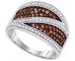 Ladies Diamond Fashion Ring 10K White Gold 0.75 cts. GD-87186