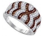 Ladies Diamond Fashion Ring 10K White Gold 0.75 cts. GD-87196