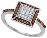 Ladies Diamond Fashion Ring 10K White Gold 0.25 cts. GD-87197