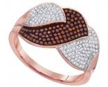 Ladies Diamond Fashion Ring 10K Rose Gold 0.50 cts. GD-88350