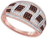 Ladies Diamond Fashion Ring 10K Rose Gold 0.49 cts. GD-88398