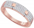 Ladies Diamond Fashion Ring 10K Rose Gold 0.25 cts. GD-88403