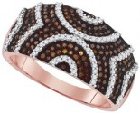 Ladies Diamond Fashion Ring 10K Rose Gold 0.60 cts. GD-88478
