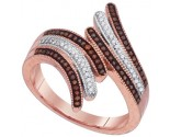 Ladies Diamond Fashion Ring 10K Rose Gold 0.25 cts. GD-88480