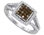 Ladies Diamond Fashion Ring 10K White Gold 0.50 cts. GD-89376