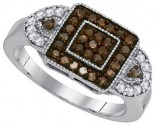 Ladies Diamond Fashion Ring 10K White Gold 0.50 cts. GD-89378