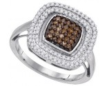 Ladies Diamond Fashion Ring 10K White Gold 0.50 cts. GD-89385