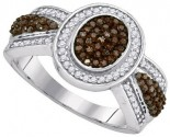 Ladies Diamond Fashion Ring 10K White Gold 0.50 cts. GD-89398