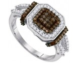 Ladies Diamond Fashion Ring 10K White Gold 0.50 cts. GD-89452
