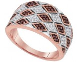 Ladies Diamond Fashion Ring 10K Rose Gold 0.20 cts. GD-89744
