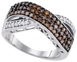 Ladies Diamond Fashion Ring 10K White Gold 0.70 cts. GD-90446