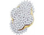 Diamond Cocktail Ring 10K Yellow Gold 7.00 ct. GD-9328