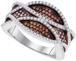 Ladies Diamond Fashion Ring 10K White Gold 0.55 cts. GD-95184