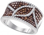 Ladies Diamond Fashion Ring 10K White Gold 1.00 ct. GD-95190