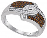 Ladies Diamond Fashion Ring 10K White Gold 0.33 cts. GD-95192