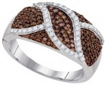 Ladies Diamond Fashion Ring 10K White Gold 0.75 cts. GD-95204