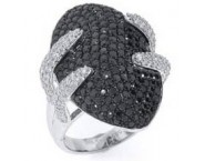 Ladies Diamond Fashion Ring 14K White Gold 3.65 cts. S-MR11306 [S-MR11306]