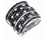 Ladies Diamond Anniversary Band 14K White Gold 2.50 cts. S22-3