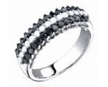 Ladies Diamond Band 14K White Gold 1.0 cts. S23-5
