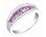 Diamond Fashion Ring 14K White Gold 1.35 cts. S34-7