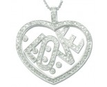 Diamond Heart Pendant 7JLJ60108
