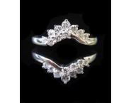 Diamond Ring Enhancer 14K White Gold 0.66 cts CL-41260