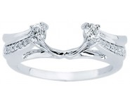 Diamond Ring Enhancer 14K White Gold 0.33 cts CL-34141