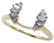 Diamond Ring Enhancer 14K Yellow Gold 0.27 cts CL-10133
