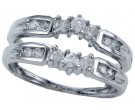 Diamond Ring Enhancer 14K White Gold 0.53 cts CL-14927