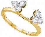 Diamond Ring Enhancer 14K Yellow Gold 0.75 cts GD-92728