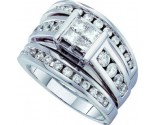 Ladies Three Piece Set 14K White Gold 2.00 ct. GD-52995