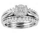 Ladies Three Piece Set 14K White Gold 1.00 ct. GS-21232