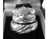 Three Piece Wedding Set 14K White Gold 1.00 ct. 6JSD214