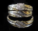 Three Piece Wedding Set 14K Yellow Gold 0.20 cts. CL-40483