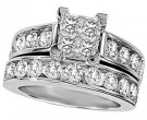 Ladies Two Piece Set 14K White Gold 1.00 ct. GS-22072