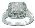 Ladies Two Piece Set 14K White Gold 2.32 cts. 6JPMR-W15