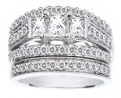 Ladies Two Piece Set 14K White Gold 1.64 cts. CL-20385