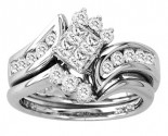 Ladies Two Piece Set 14K White Gold 1.00 ct. CL-23965