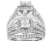 Ladies Two Piece Set 14K White Gold 1.25 cts. CL-29511