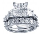 Ladies Two Piece Set 14K White Gold 1.50 cts. CL-30939